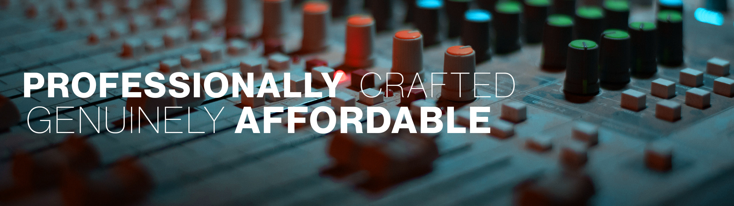 Affordable professional sound effects
