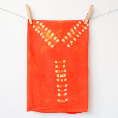Hand-dyed Tea Towel - Eiffel