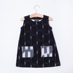 Toddler Dress - Ikat Heart