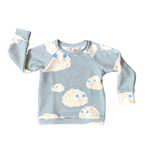 Toddler Sweatshirt - Cloudy Eyes