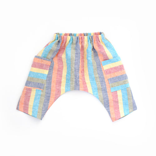 Lilla Barn Clothing Gender Neutral Rainbow Toddler Ninja Pants