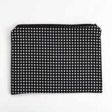Load image into Gallery viewer, Lilla Barn Clothing Reusable Fabric Zipper Pouch Black and White