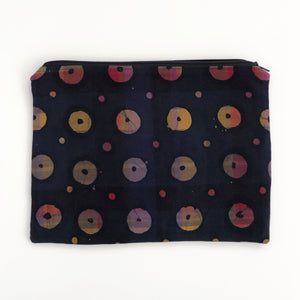 Zipper Pouch - Buttons