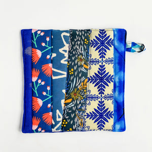 Pot Holder - Blue Bell