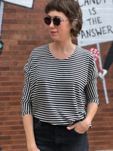 Load image into Gallery viewer, Women's Dolman Top - Stripes for Everyone