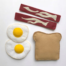 Load image into Gallery viewer, Felt Food - Bacon & Eggs