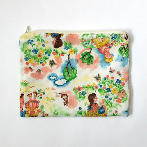 Zipper Pouch - Vintage Kids