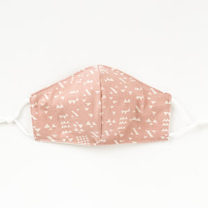 NEW Fitted Face Mask -  Pretty in Pink
