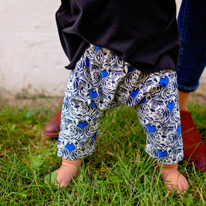 Baby & Toddler Ninja Pants - Tiger Heart