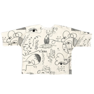 Lilla Barn Clothing | Gender Neutral baby top | Art