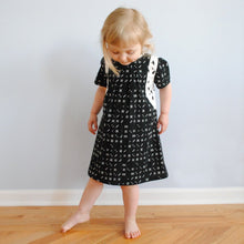 Load image into Gallery viewer, Toddler Dress - Dominos - 4T
