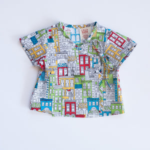 Infant Wrap Top - Bright City