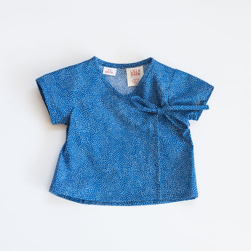 Infant Wrap Top - Baby Blues