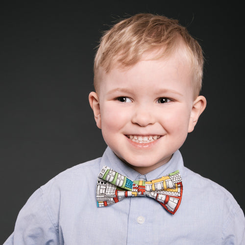 Infant & Kid Bow Tie - Bright City