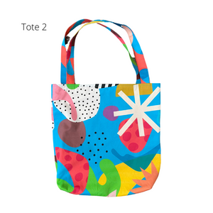 Ponnopozz Playground Cotton Totes