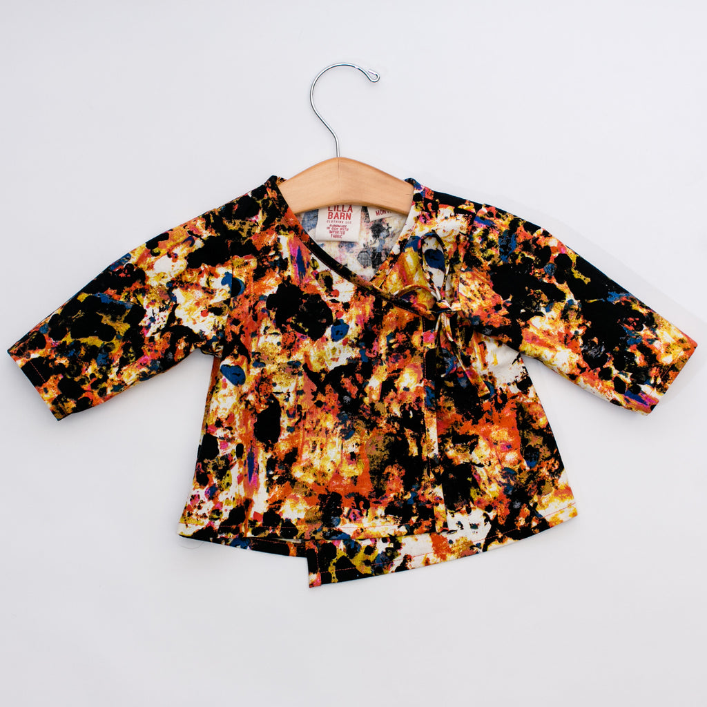 Infant & Toddler Wrap Top - Graffiti