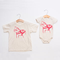 Infant & Child T-shirt - Dalahorse