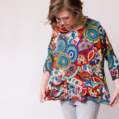 Women's Top - Bright Floral