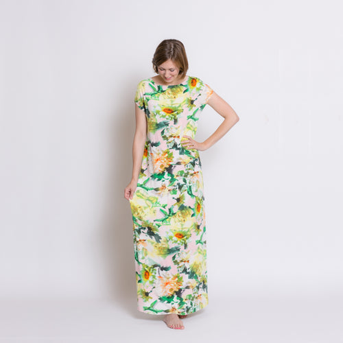 Second Hand - Women's Maxi Dress - Summer Floral