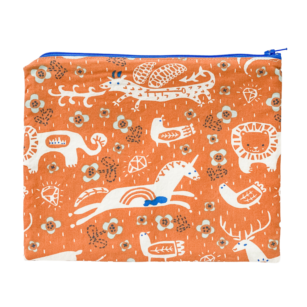 Zipper Pouch - Tell Me a Story