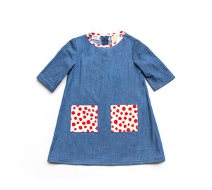 Baby & Toddler Dress - Apple Pie