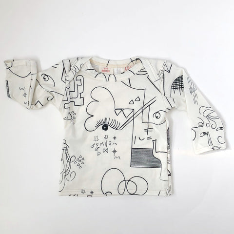Infant Long Sleeve Tee - Art