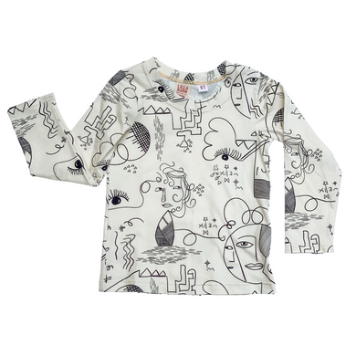 Kid Tee - Long Sleeve Art - 5T