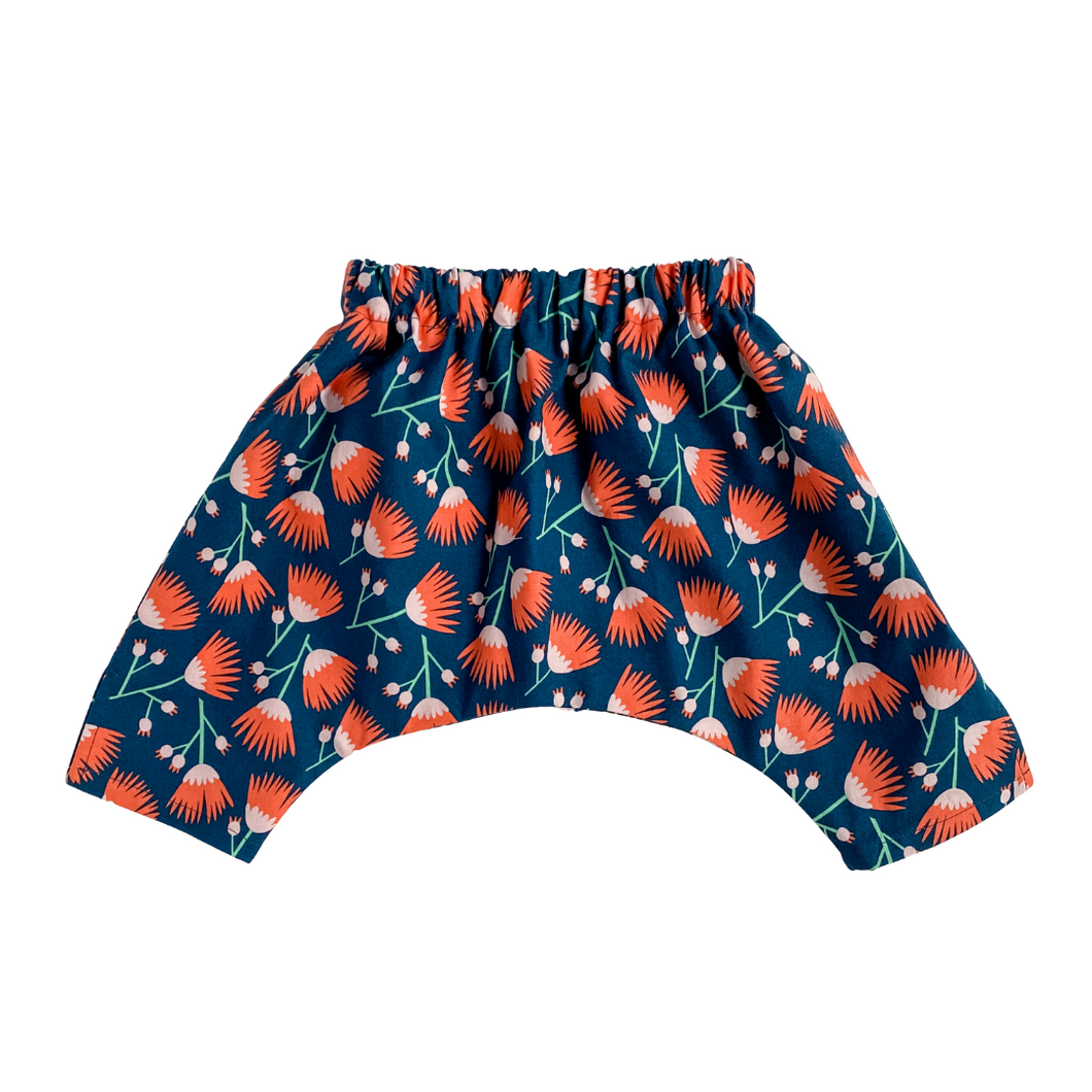Baby Ninja Pants - Chicago Floral