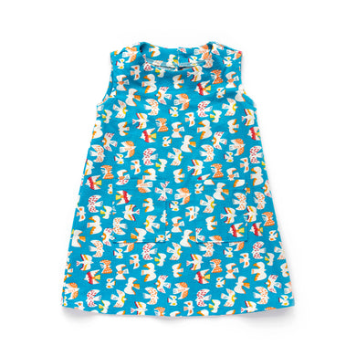 Baby & Toddler Sleeveless Dress - Birdies