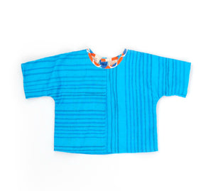 Baby Dolman Top - Sea of Blue