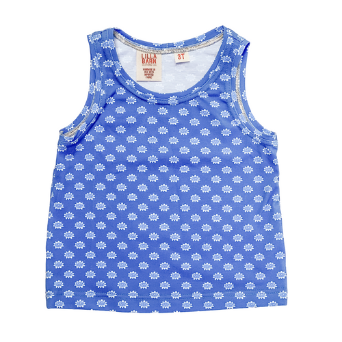 Toddler & Kid Tank - Blue Fields
