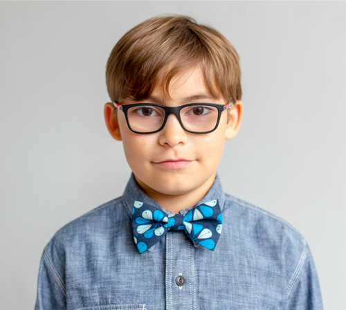 Baby & Kid Bow Tie -  Blue Kurbits