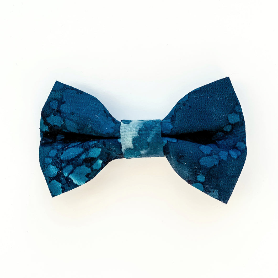 Medium Bow Clip - Deep Sea