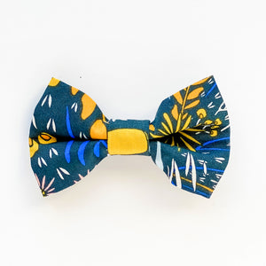 Medium Bow Clip - Flora