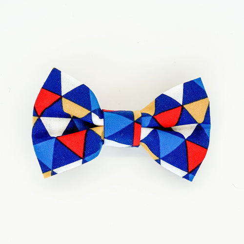 Medium Bow Clip - Pennant
