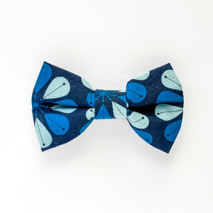 Medium Bow Clip - Scandi Blue
