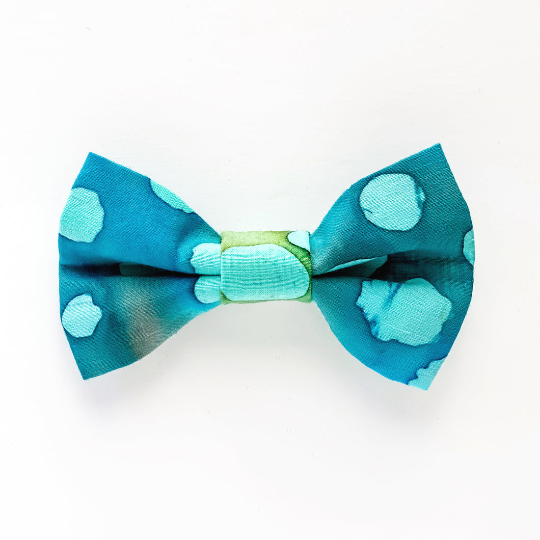 Medium Bow Clip - Sea Foam