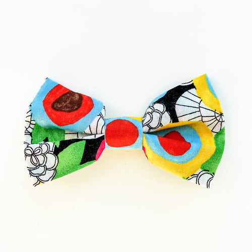 Baby & Kid Bow Tie -  Neon Floral