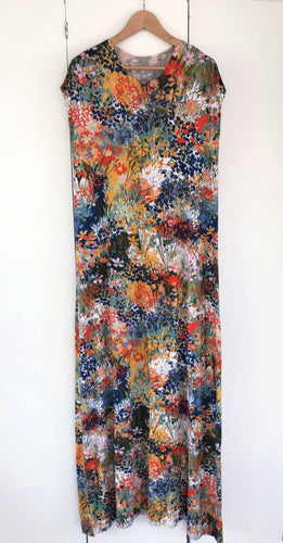 Second hand - Women's Maxi Dress - Bright Floral