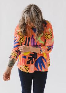 Lilla Barn x Ponnopozz - Long Sleeve Grown-up Top