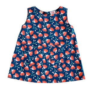 Toddler Sleeveless Dress - Chicago Floral 3T