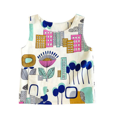 Toddler Tank - Pretty City 3T/4T