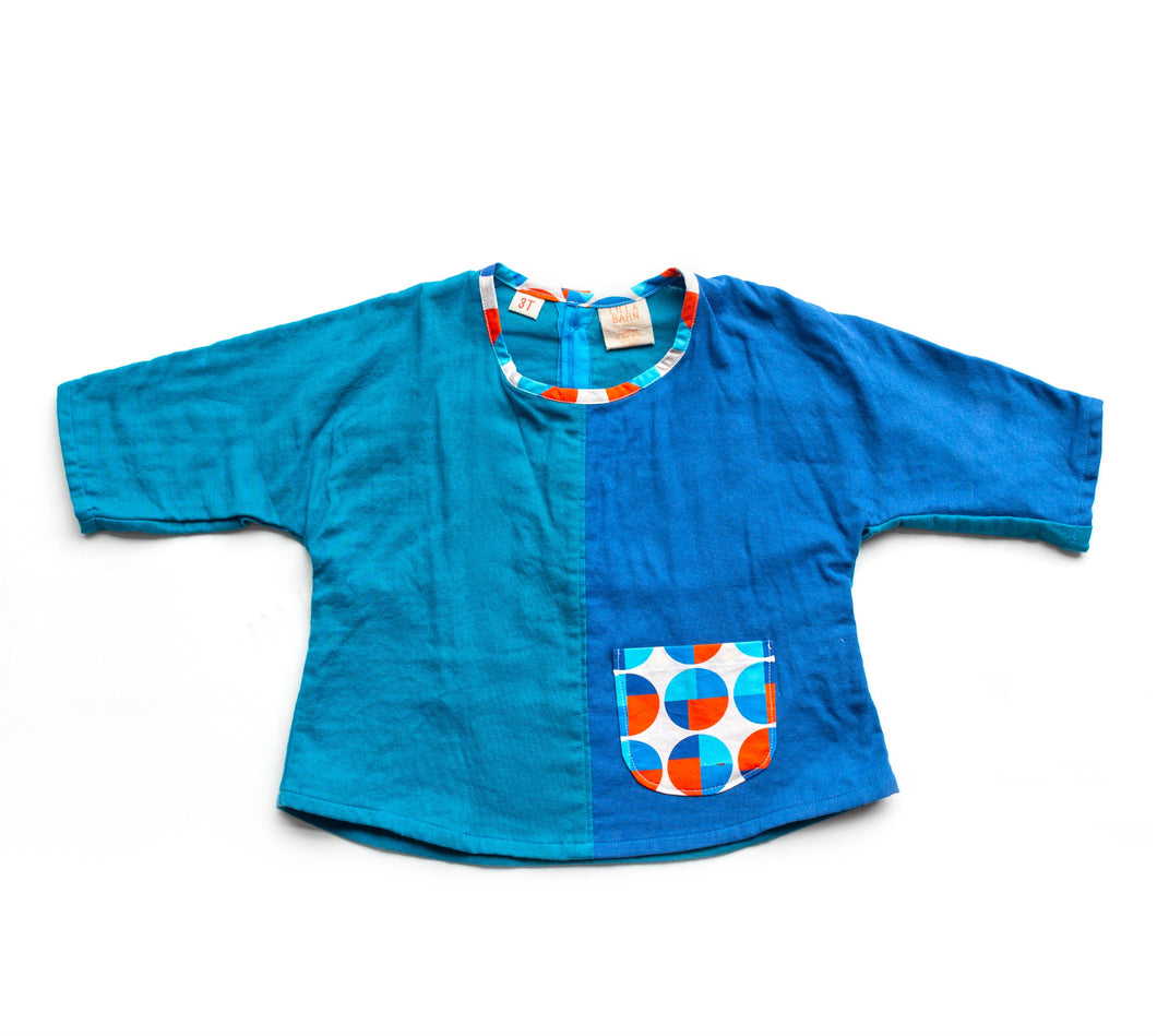 Toddler Dolman Top - Color Block