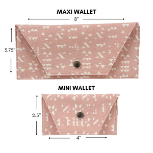 Maxi Wallet - Pretty in Pink