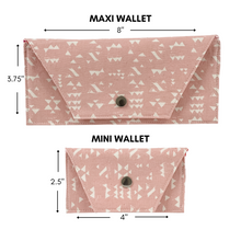 Load image into Gallery viewer, Mini Wallet - My Favorite Flower
