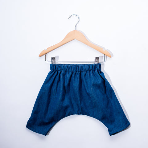 Infant Ninja Pants - Denim