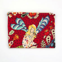 Load image into Gallery viewer, fairy-fabric-zipper-pouch