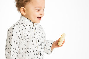 Toddler Shirt - Domino Button-down - 4T