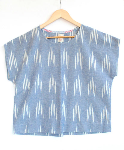 Second hand - Grown-up - Ikat Box Top - Size Medium