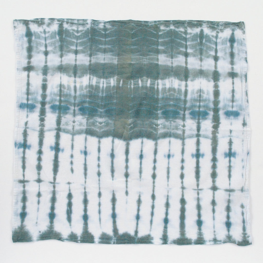 Hand-dyed Tea Towel - Into the Woods